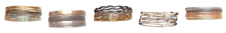 Bracelet Collections Sculpted Metals